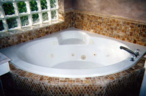 bathroom remodel tub jetted